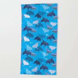 Aquaflage Beach Towel