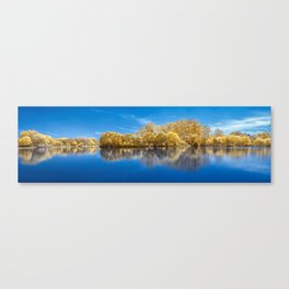 Panorama Lake View Canvas Print