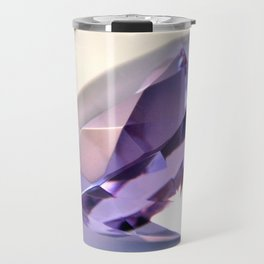 Purple Diamond Travel Mug