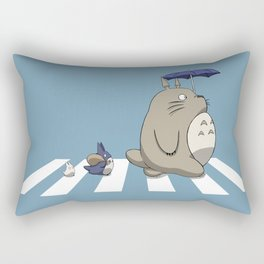 Ghibli Road [Colored] Rectangular Pillow