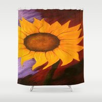 sister Shower Curtains featuring Sister by Jessica Nicole Pacheco