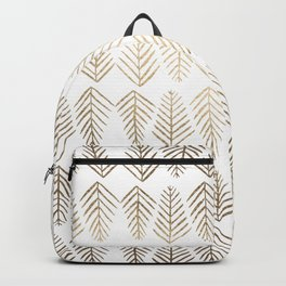 Pine trees - gold Backpack
