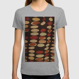 Irregular circles - ethnic theme T-shirt