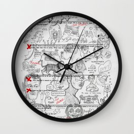 Forgot To Study Wall Clock