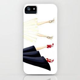 Strut stiletto pump iPhone Case