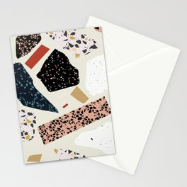 Modern Terrazzo Collage 01 Stationery Cards