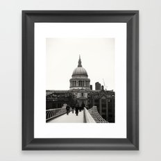 St Pauls Cathedral Framed Art Print