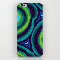malachite iPhone & iPod Skins featuring Malachite by Alex Morgan