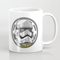storm trooper Mugs featuring Storm Trooper by KODYMASON