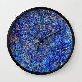 earth, shattered. Wall Clock