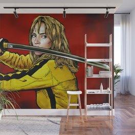 Tarantino Kill Bill -  Kiddo The Bride Wall Mural