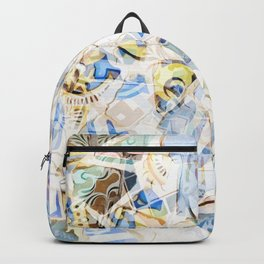 Mosaic of Barcelona I Backpack