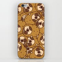 potato iPhone & iPod Skins featuring Puglie Potato by Puglie Pug