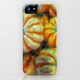 Colorful Pumpkins iPhone Case