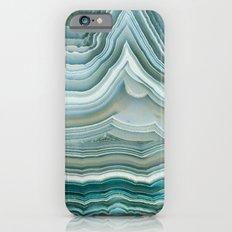 Agate Crystal Blue iPhone 6 Slim Case