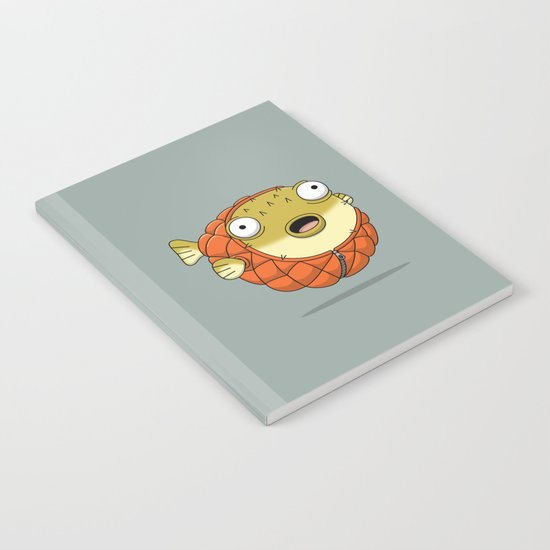 Puffer fish Notebook
