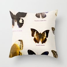 Forever Beautiful Butterfly Throw Pillow