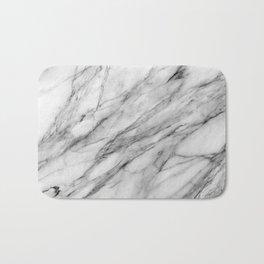 Carrara Marble Bath Mat