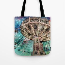 Dip Your Toes In the Stars Tote Bag