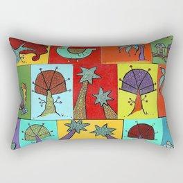 Quilt Blocks Rectangular Pillow