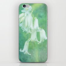 White Bluebell iPhone & iPod Skin