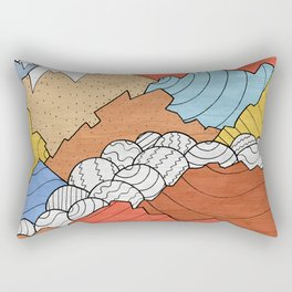 Rocky Mounts Rectangular Pillow