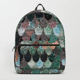 SUMMER MERMAID SEAWEED MIX by Monika Strigel Backpack
