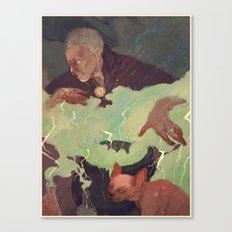 Conjured Canvas Print