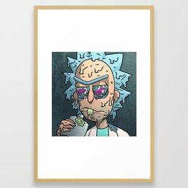 Wubba Lubba Drip Drip Framed Art Print