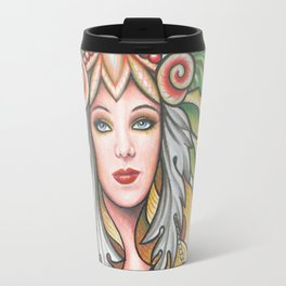 'THE THREE KEYS' - Ruth Priest Travel Mug