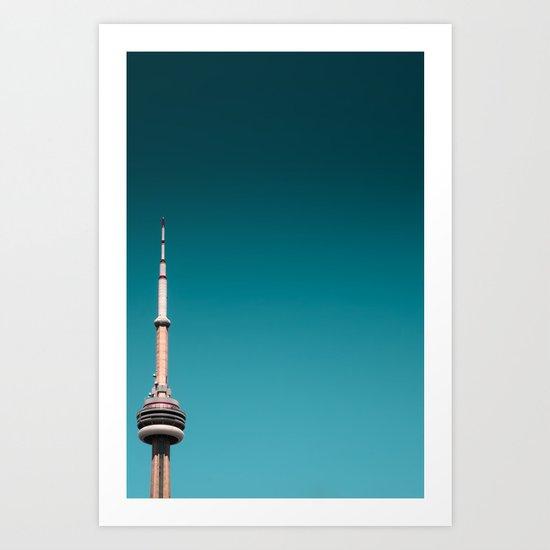 CN Tower top half by optikz