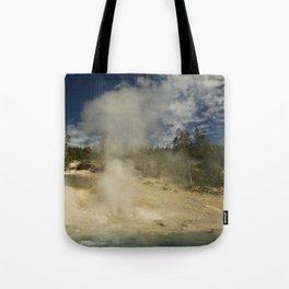 Norris Geyser Basin - Beryl Spring Tote Bag