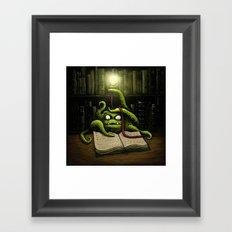 Octobook Framed Art Print