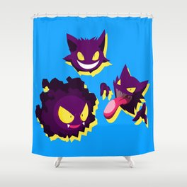 PokemonGhosts Shower Curtain