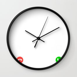 rc-plane is calling and i must go t-shirt for christmas Wall Clock