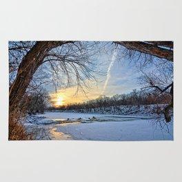 A January Morning Rug