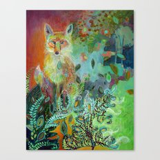 i am the forest path Canvas Print