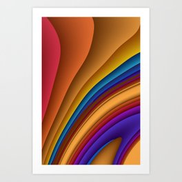 colors for your home -330- Art Print