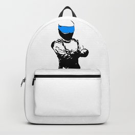 The Stig Silhouette Backpack