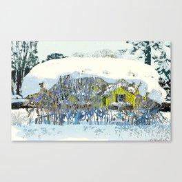 Let Your Winter Garden Go Wild Canvas Print