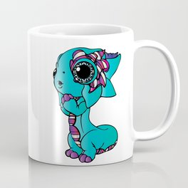 Baby Dragon in Bright Colors Coffee Mug
