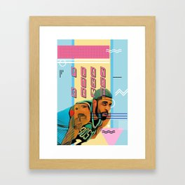 PLAY THE GAME Framed Art Print