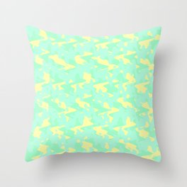 Abstract 2 ZQ RG Throw Pillow