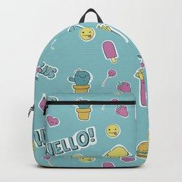 Food pattern Backpack