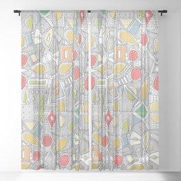 RAZZ ZIP Sheer Curtain
