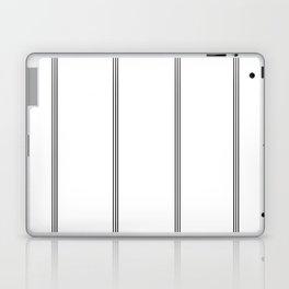 Minimal Black White Stripe Glam #2 #lines #decor #art #society6 Laptop & iPad Skin