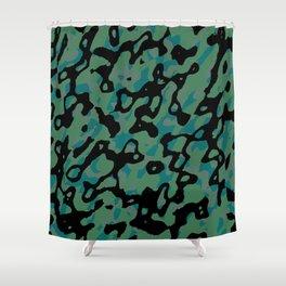 Spring Camo Shower Curtain