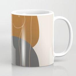 Line Female Figure 81 Coffee Mug