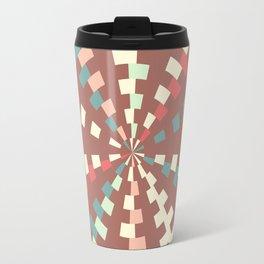 Dashed vortex Travel Mug