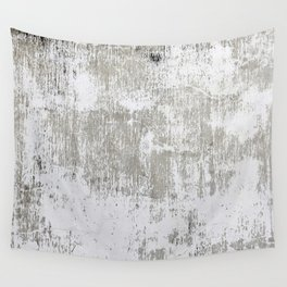 Vintage White Wall Wall Tapestry